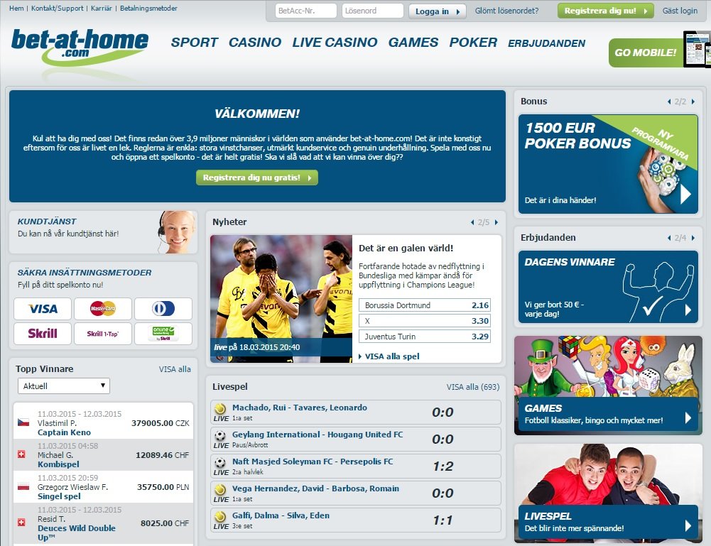 bet-at-home Screenshot