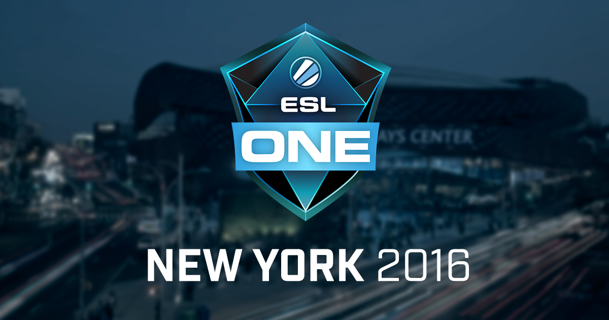 ESL One New York 2016 CSGO Betting