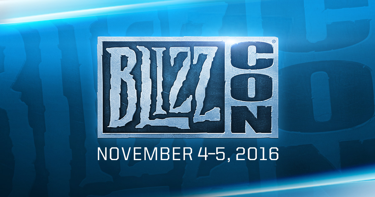 Dags för Blizzcon 2016
