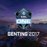 ESL One Genting Dota 2 Betting