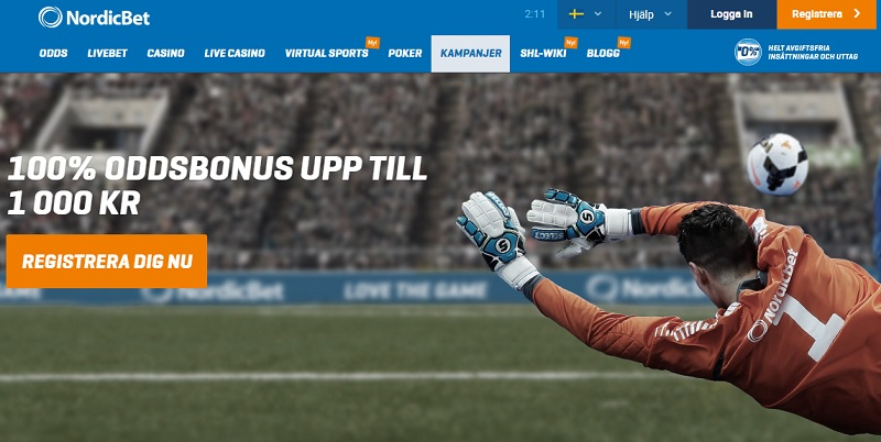 nordicbet esport Screenshot