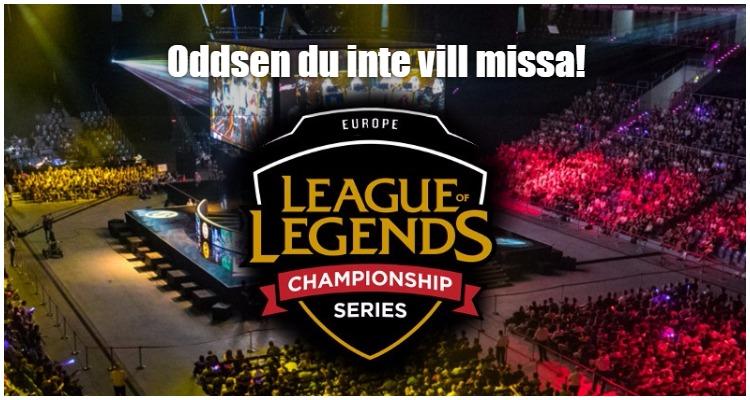LCS Spring Split 2017 Vecka 7 – Ofattbara Oddsen Du Inte Vill Missa