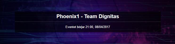 lcs spring split - phoenix1 vs team dignitas