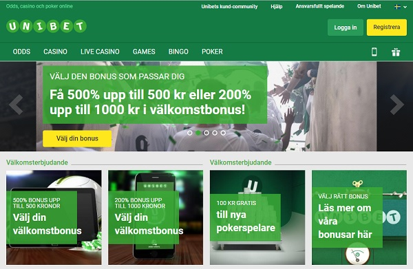 unibet esport Screenshot