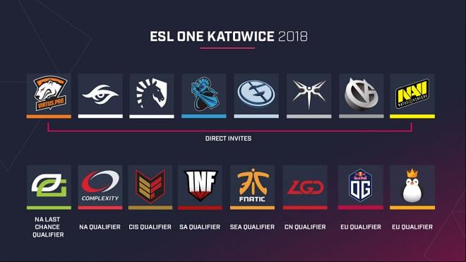 lag esl one katowice 2018