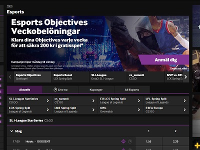 betway esport Screenshot