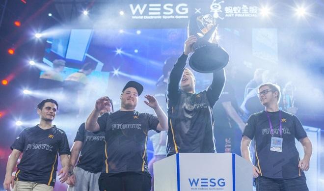 wesg 2017 vinnare fnatic