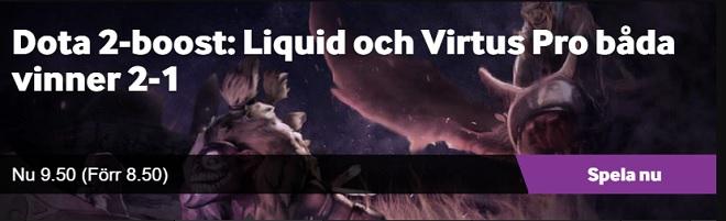11x pengarna på Liquid och Virtus pro