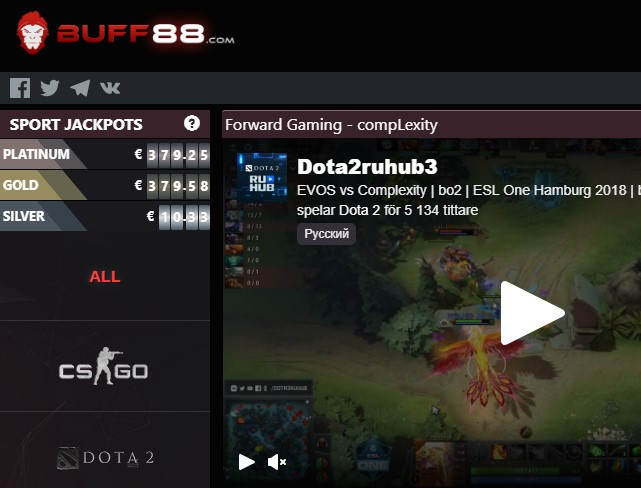 buff88 Screenshot