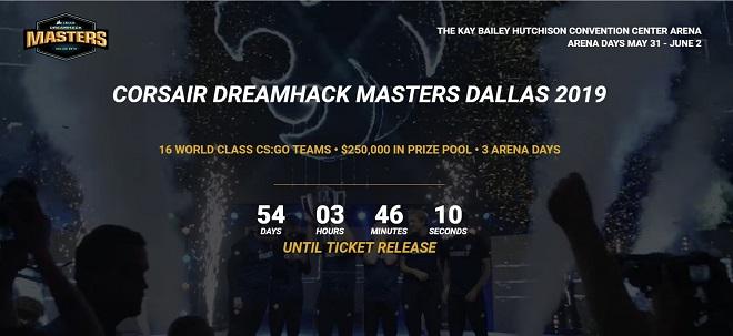 Dallas blir värdstad för nästa DH Masters