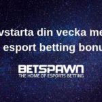 Rivstarta din vecka med en esport betting bonus!