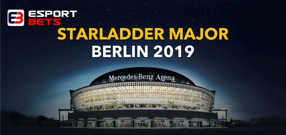 StarLadder Major Berlin 2019 Betting