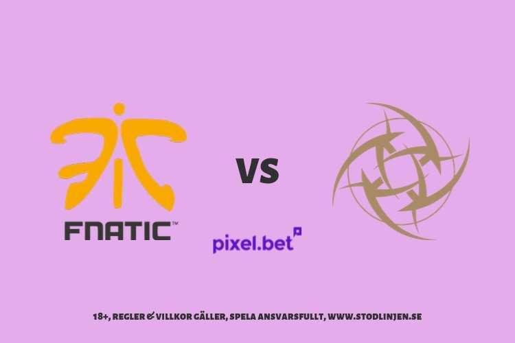 Fnatic vs NiP – DreamHack Masters Malmö 2019