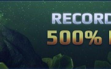 ggbet rekordbonus